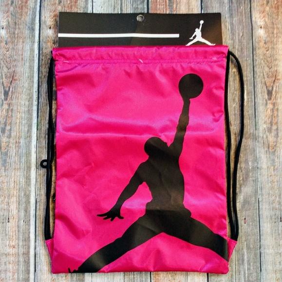 10aacb5b6207 Nike Jordan Jumpman Drawstring Gym Bag